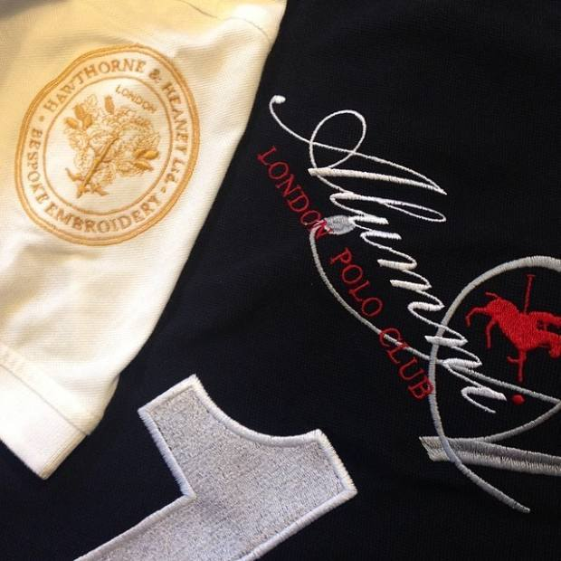 The London Alumni Polo Team  London Hand Embroidery