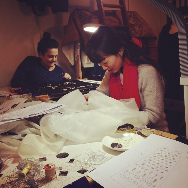 Internships with Hawthorne & Heaney London Hand Embroidery