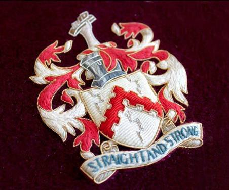Hawthorne & Heaney on Family Crests London Hand Embroidery