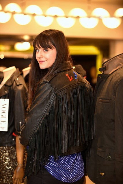 Hawthorne & Heaney does Fashion's Night Out London Hand Embroidery