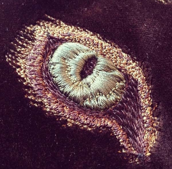 Hawthorne & Heaney does #MachineMondays London Hand Embroidery