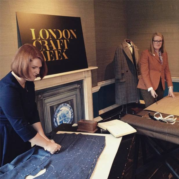 Hawthorne & Heaney at London Craft Week London Hand Embroidery