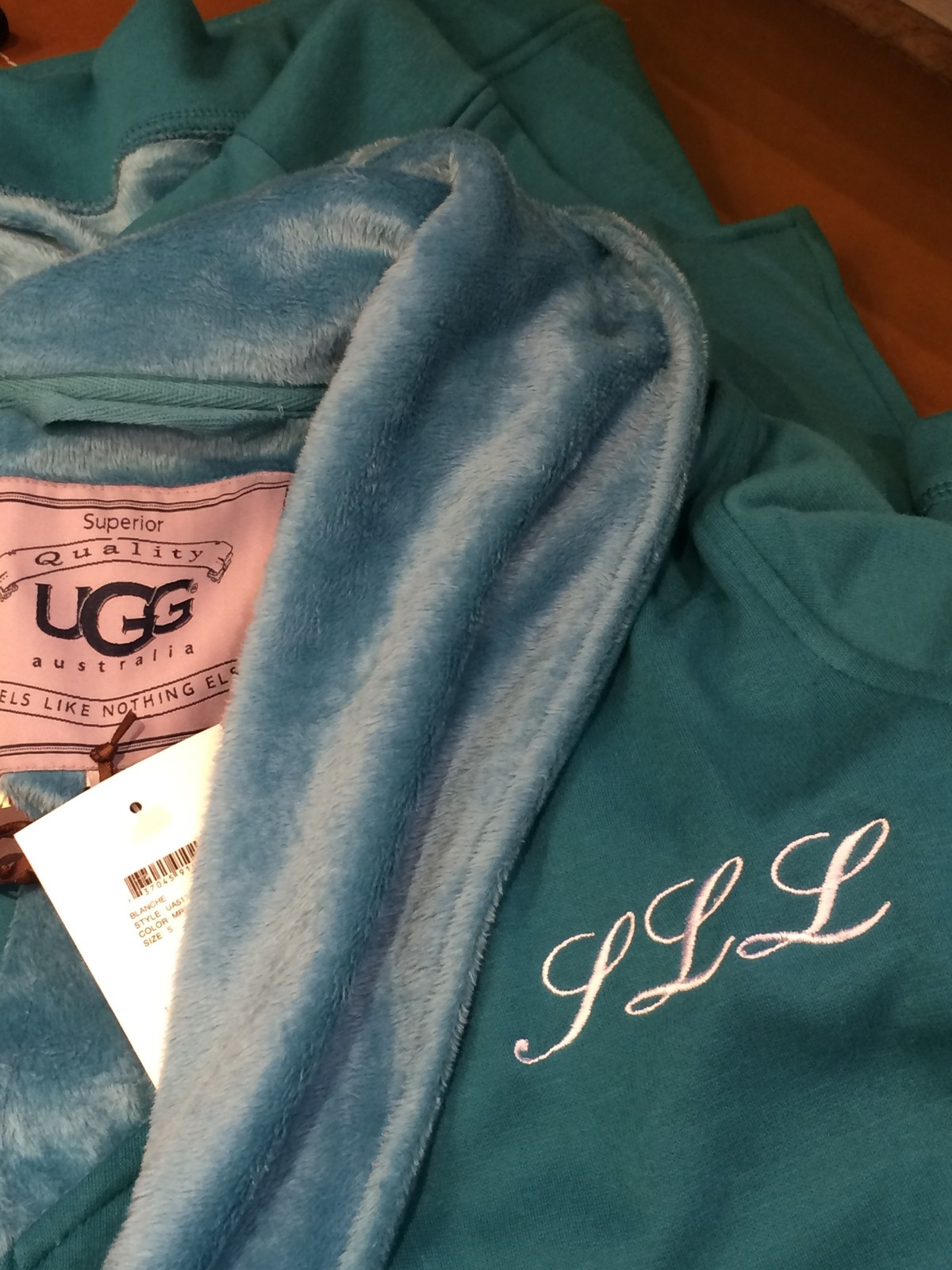 Hawthorne & Heaney visits for Ugg Australia Mother's Day Events London Hand Embroidery