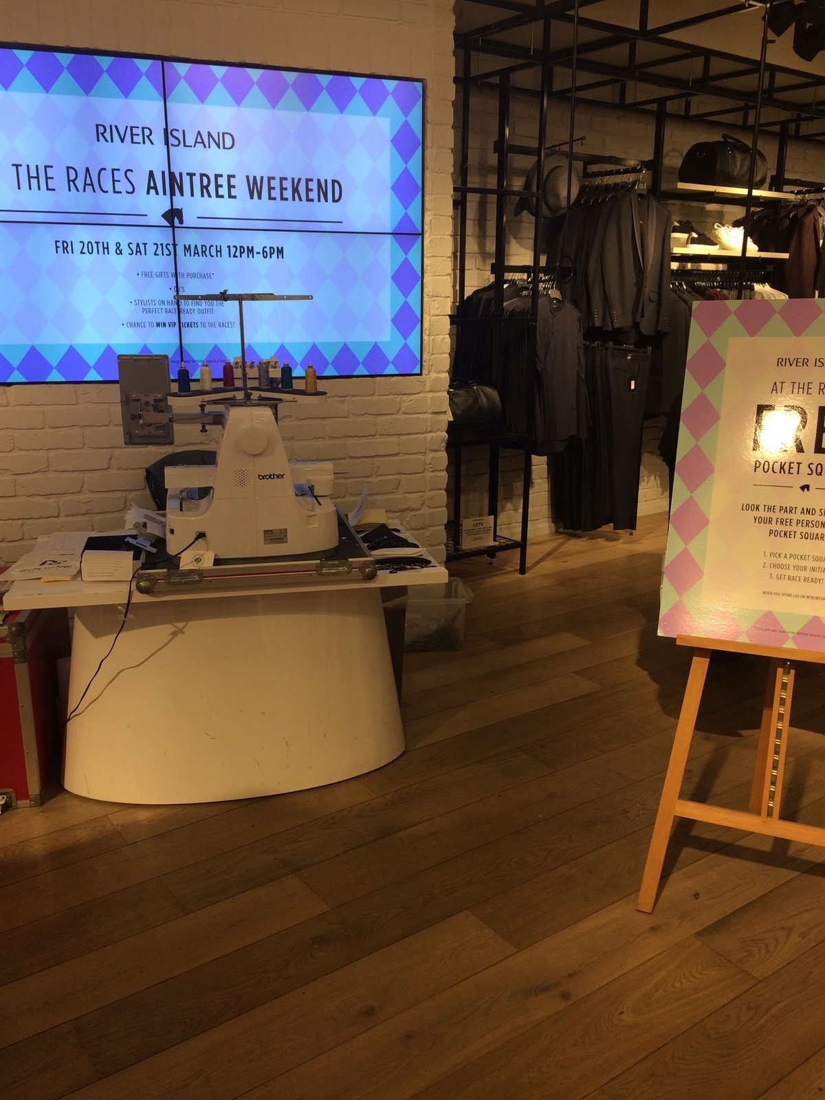 Hawthorne & Heaney for River Island London Hand Embroidery