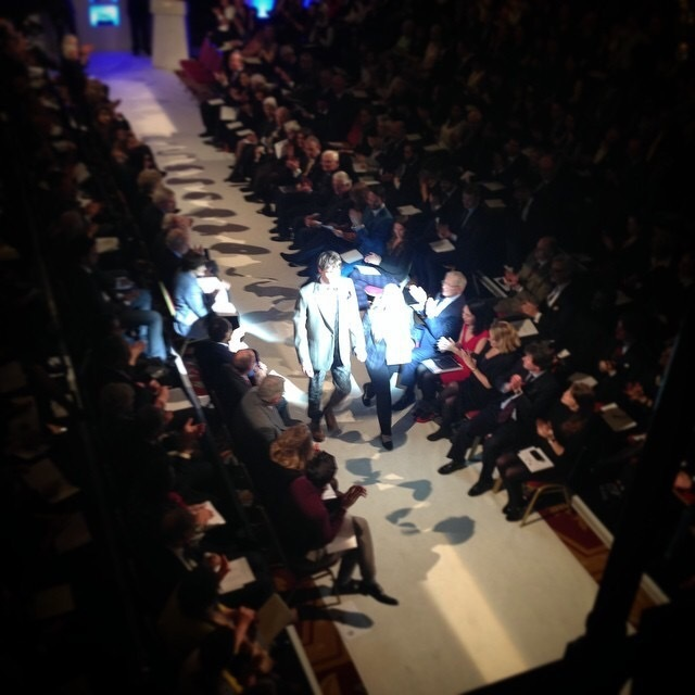 Hawthorne and Heaney at the Golden Shears 2015 London Hand Embroidery