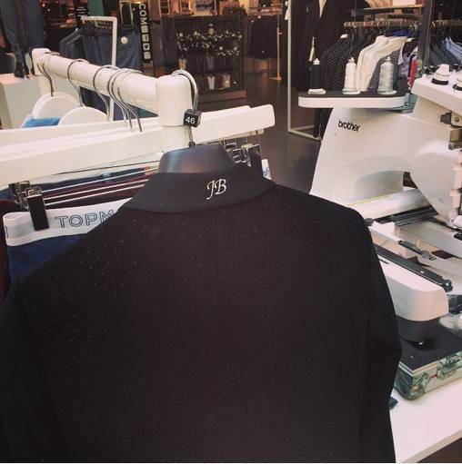 Hawthorne & Heaney at Topshop's 'Make It Your Own' London Hand Embroidery