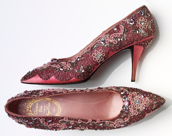 Hawthorne & Heaney at the V&A's Shoes: Pleasure & Pain Exhibition London Hand Embroidery