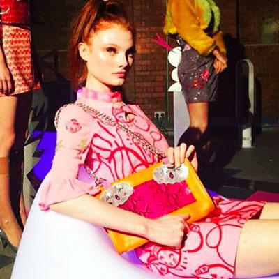 Hawthorne & Heaney for Clio Peppiatt at London Fashion Week London Hand Embroidery
