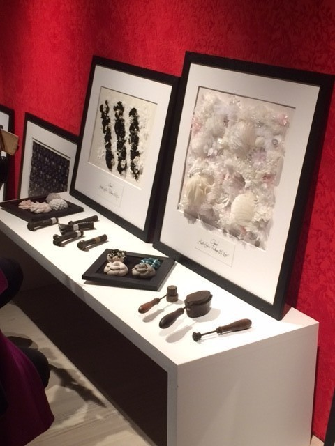 Hawthorne & Heaney at Mademoiselle Prive London Hand Embroidery