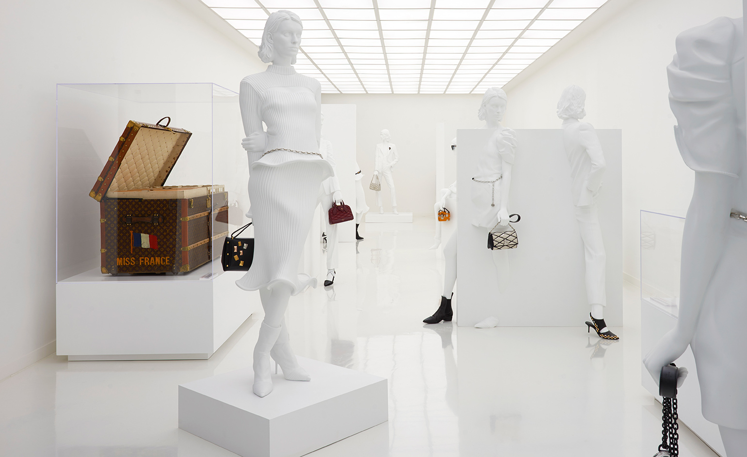 Hawthorne & Heaney Visits The Louis Vuitton Series 3 Exhibition London Hand Embroidery
