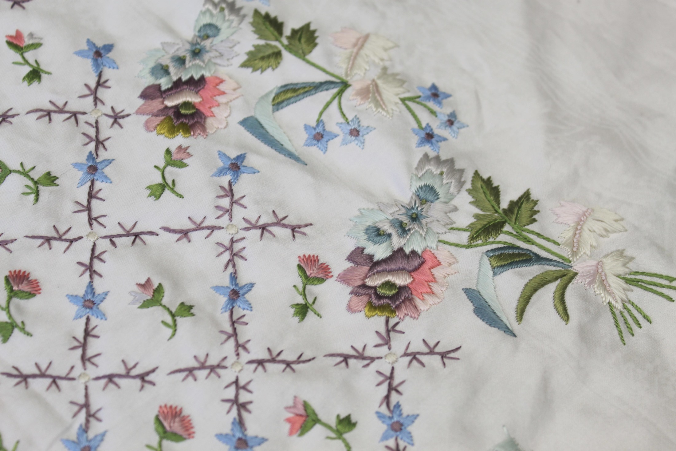 Hawthorne & Heaney and 'The Tailor of Gloucester' Waistcoat London Hand Embroidery