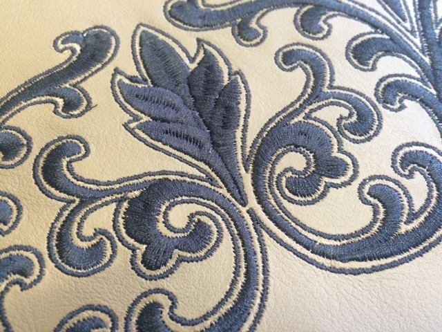 Hawthorne & Heaney does Tricky Fabrics London Hand Embroidery