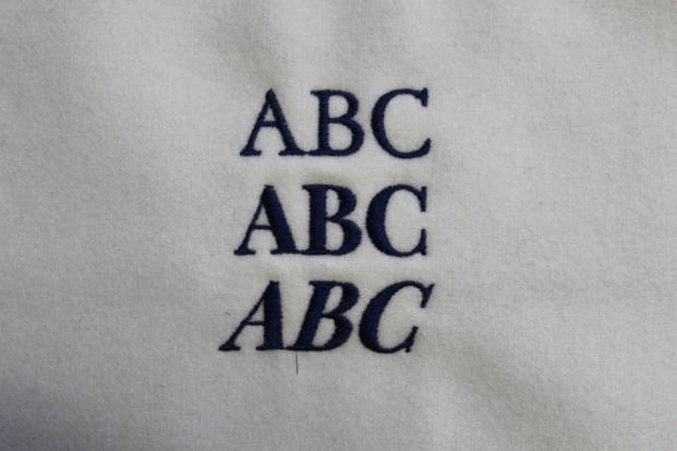 Hawthorne & Heaney presents Typography London Hand Embroidery