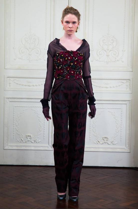 Hawthorne & Heaney for Ong Oaj Pairam London Hand Embroidery