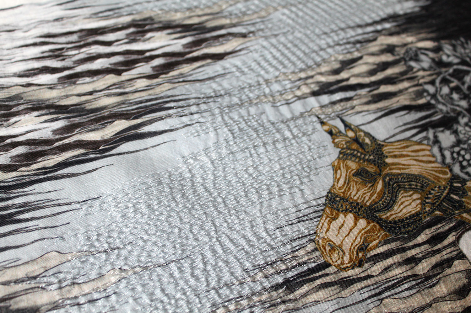 Hawthorne & Heaney on Embroidery in Illustration - Lica Tang London Hand Embroidery