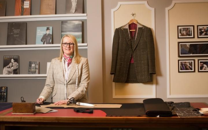 Hawthorne & Heaney Celebrates Kathryn Sargent's New Savile Row Store London Hand Embroidery