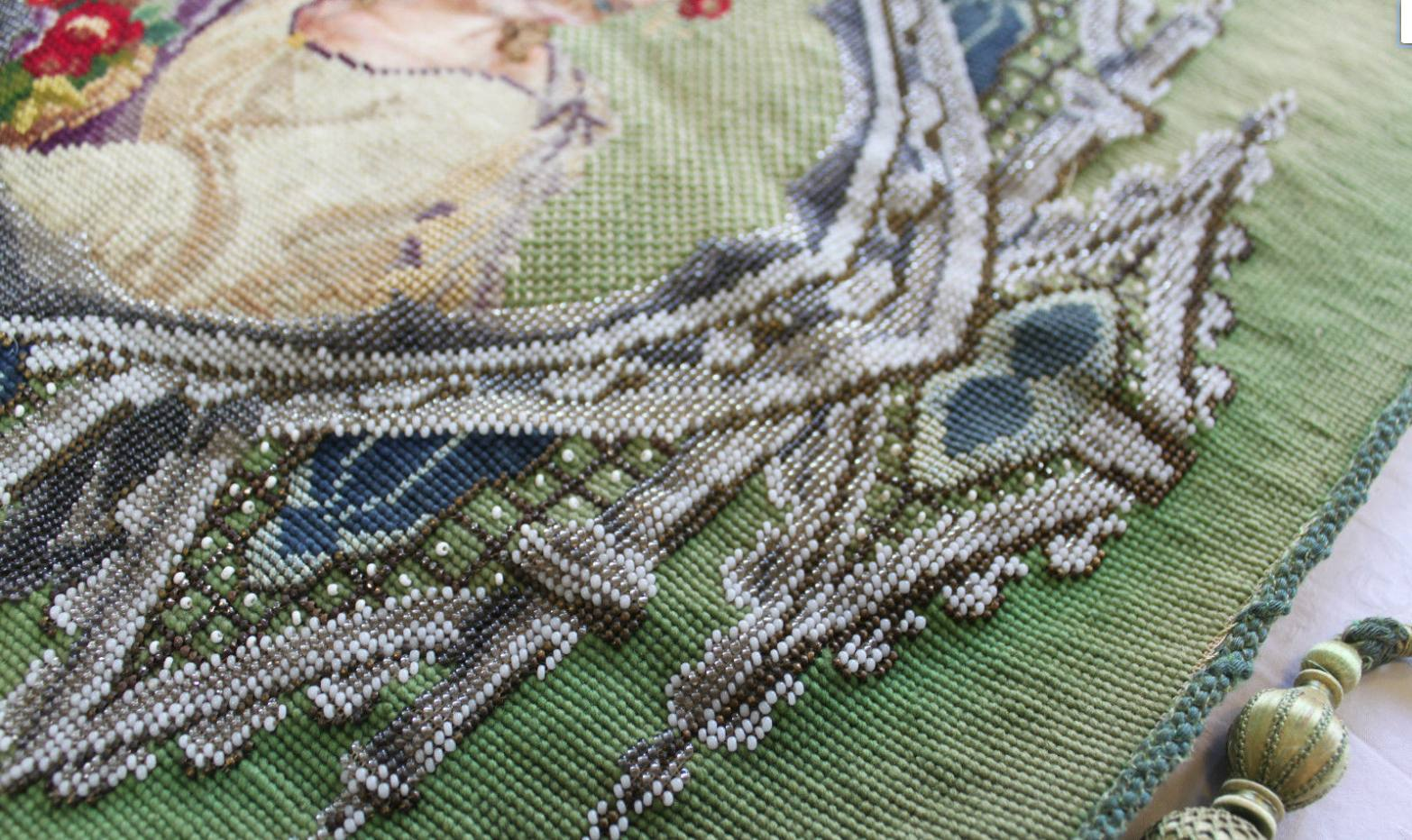Hawthorne & Heaney on Vintage Embroideries London Hand Embroidery