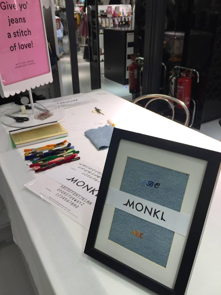 Hawthorne & Heaney for Monki Jeans London Hand Embroidery