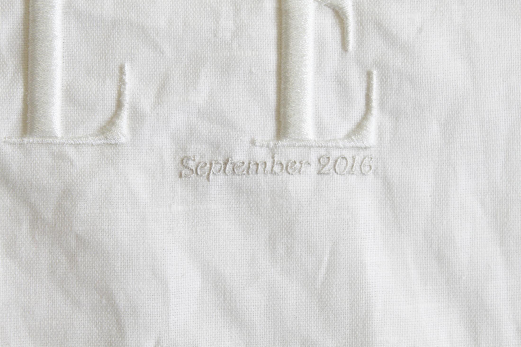 Hawthorne & Heaney For Elle Magazine, September Issue 2016 London Hand Embroidery
