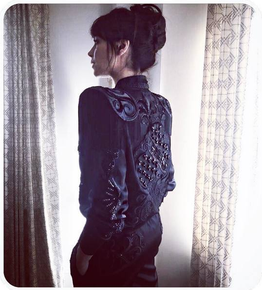 Hawthorne & Heaney for Charlotte Stockdale's Met Gala Outfit London Hand Embroidery