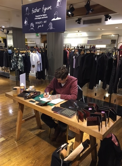Hawthorne & Heaney for Liberty of London Event London Hand Embroidery