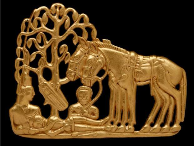 Hawthorne & Heaney visits Scythians: Warriors of ancient Siberia London Hand Embroidery