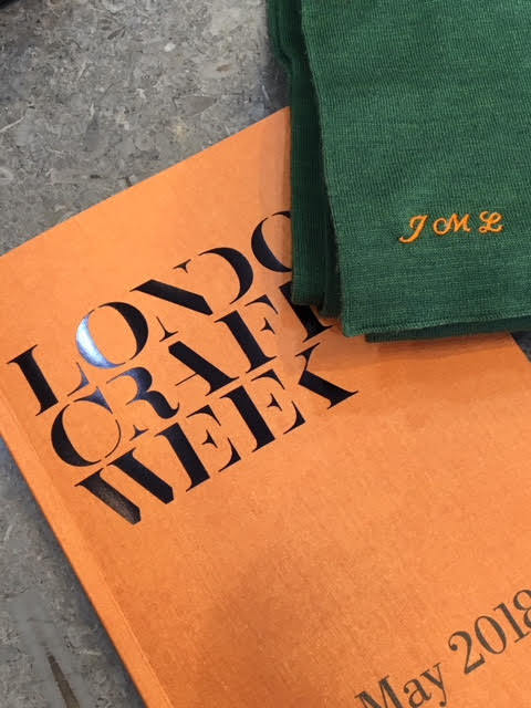 Hawthorne & Heaney teams up with John Smedley London Hand Embroidery