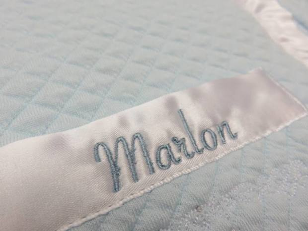 Hawthorne & Heaney does Baby Naming Day Gifts London Hand Embroidery