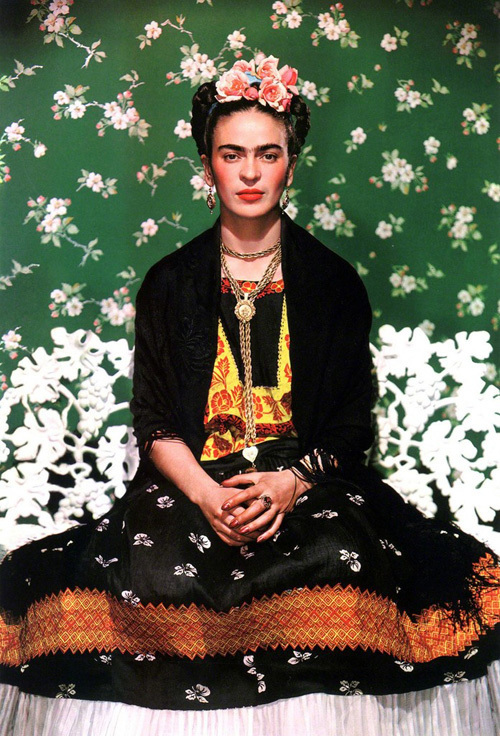 Frida Kahlo: Making Herself Up - Exhibition Visit London Hand Embroidery