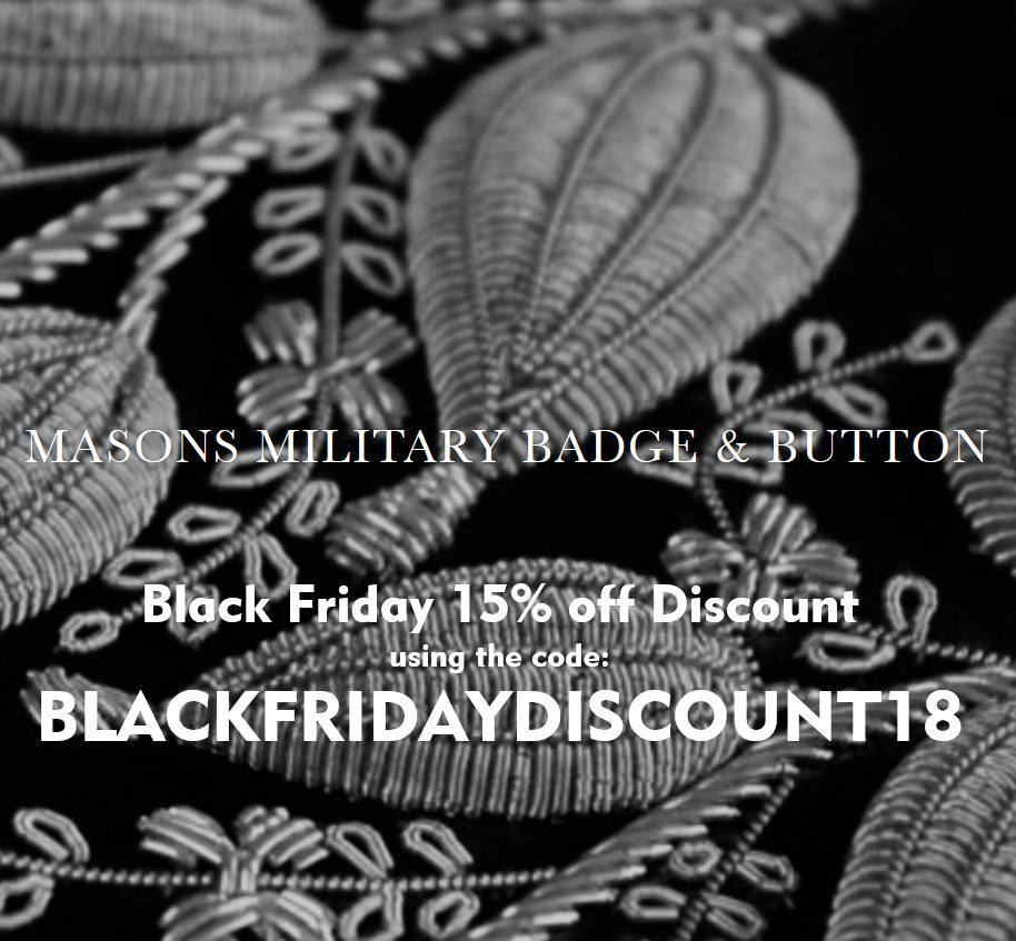Hawthorne & Heaney does Black Friday London Hand Embroidery