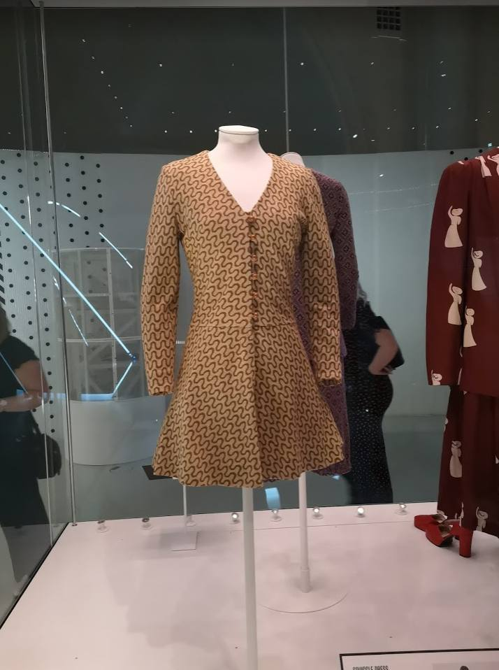 Hawthorne & Heaney Visits Mary Quant at the V & A Museum London Hand Embroidery