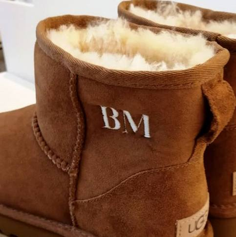 Hawthorne & Heaney for Ugg Boots London Hand Embroidery