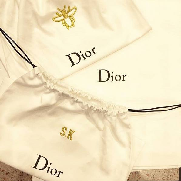 Hawthorne & Heaney for Dior Perfumes London Hand Embroidery