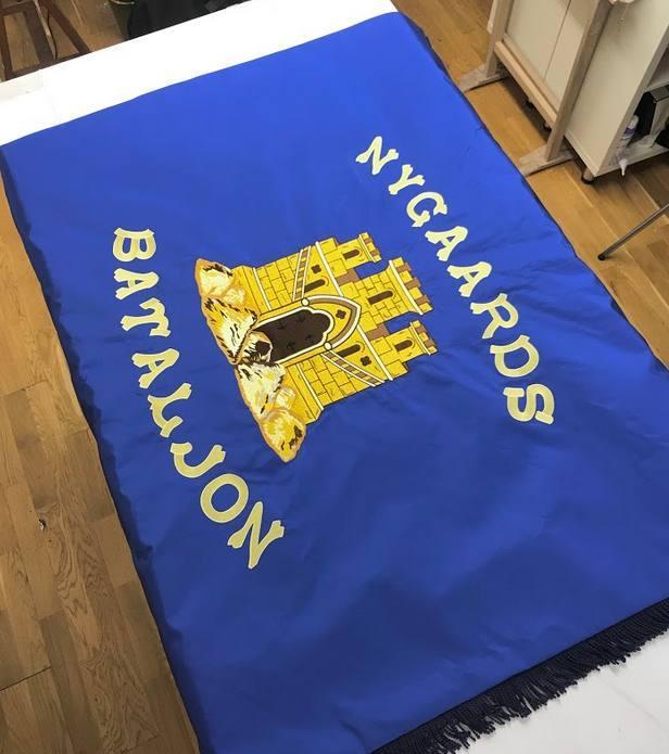 Hawthorne & Heaney for Nygaards Bataljon London Hand Embroidery