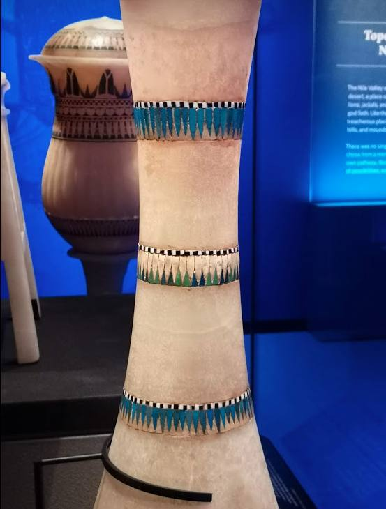 Hawthorne & Heaney Visits Tutankhamun at the Saatchi London Hand Embroidery