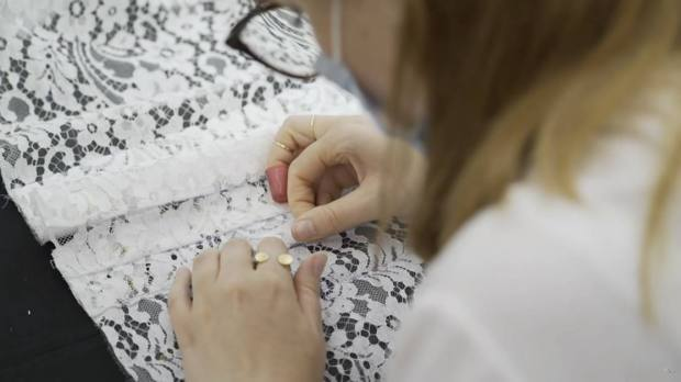 Hawthorne and Heaney watch CHANEL: Journey of a Collection by Loic Prigent London Hand Embroidery